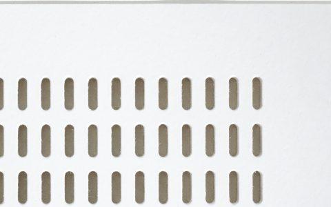 בלגרביה אריח חצי שקוע T1 חירור אובלי Tg15