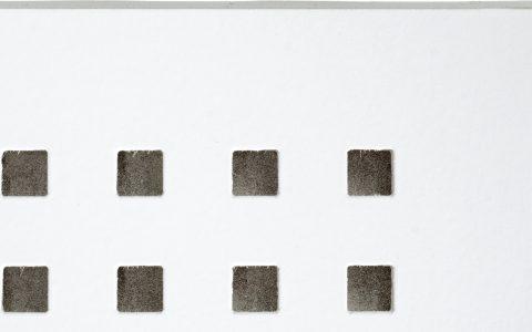 בלגרביה אריח חצי שקוע Q3F חירור מרובע במקבצים