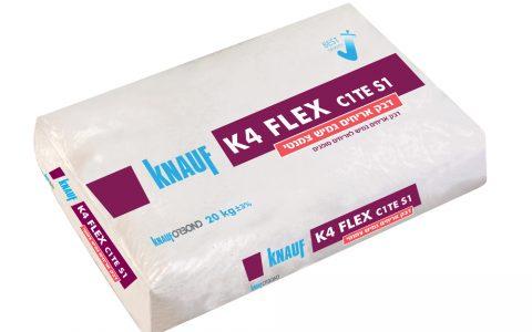 דבק אריחים צמנטי גמיש – K4 FLEX