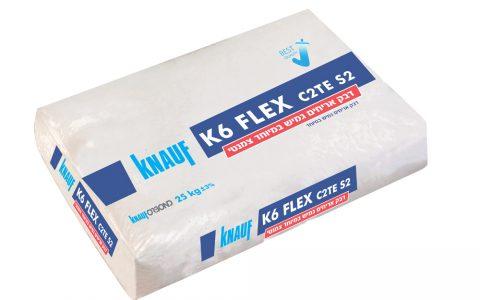דבק אריחים צמנטי גמיש – K6 FLEX